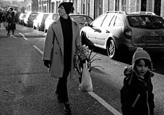 Flowerboy (Becky Frances) Tags: flowers blackandwhite market candid streetphotography documentary eastend bethnalgreen eastlondon streetshot columbiaroad 2013 pollyblue