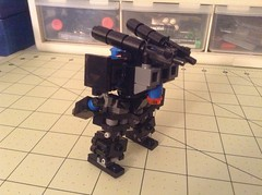 Mobile Frame Zero Heavy Chub (mauler50000) Tags: mobile lego chub frame zero mecha mfo mechaton mfz