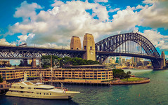 My Yacht @ Sydney Harbour (Carl's Captures) Tags: bridge summer urban landscape boat marine truth cityscape yacht fear newsouthwales nautical therocks sydneyharbor sydneyharbour downunder sydneyaustralia portjackson campbellscove thecoathanger dawespoint spanningarch nikond5100 lightroom5 tamron182703563diiivcpzd lonelywhenshessleeping loveourrelationship