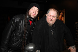 DJ Maniak and Paul Booth