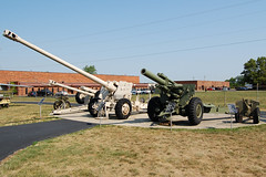 Artillery Lineup at Motts (Lunken Spotter) Tags: columbus ohio history museum army memorial military iraq historic conflict artillery historical oh preserved combat gulfwar iraqi veterans coldwar preservation cannons usarmy lineup 25mm towed antitank vietnamwar usmilitary howitzer groveport motts militarymuseum m114 centralohio artillerypiece mottsmilitarymuseum 122mmhowitzerd30j 152mmtowedgunhowitzerd20 mottsmuseum 155mmhowitzerm114 25mmsamle1937