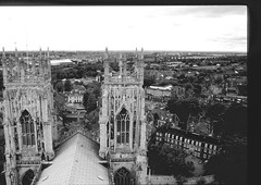 """York - from York Minster Square Tower 5 (aciamax) Tags: york uk bridge england sculpture church glass lady newcastle coach swan nest jester trafalgar houseboat shakespeare le ww2 stonegate signet minster ouse avon hamlet stratford house"""" barges petergate dragoon hanley bridge"""" """"stained garden"""" street"""" queen's """"high """"royal """"guy hotel"""" """"ann """"all cathedral"""" """"council north"""" """"angel """"tea guards"""" """"stratforduponavon"""" stmichael's """"minster saints"""" windows"""" pots"""" """"stpeter's """"coventry fawkes"""" """"chimney """"swan's hathoway"""" godiva"""" """"lendal """"stmichael belfro"""""""