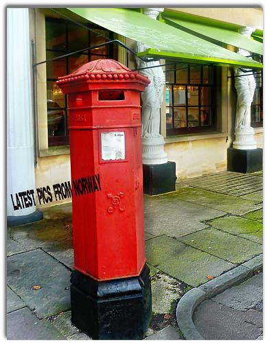 postbox cheltenhamtowninfebruary brotherinlawsphotosfromnorway
