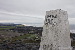 Live For The Moment (DMeadows) Tags: white rock point landscape for climb coast scotland countryside message view post live hill north coastal views summit marker fields moment viewpoint berwick trig the berwicklaw davidmeadows dmeadows davidameadows dameadows