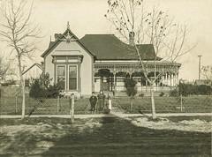 Greenville, Texas Home Around 1885 (ELDANS) Tags: greenville antiquephotos restorations greenvillelibrary greenvillephotorestorations earlygreenville