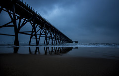 Stormy Steetley  Explored 28 Mar 2014 (Moonbags) Tags: piers coastal teeside potd:country=gb