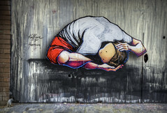 Kaffeine for Heartcore (J-C-M) Tags: street city urban streetart art wall painting graffiti artwork alley nikon paint artist grafitti artistic fitzroy australia melbourne wallart victoria inner alleyway lane laneway d200 kaffeine heartcore