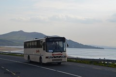 Dawn on the Swilly (@ tb 2018) Tags: bus derry buncrana 521 loughswilly wxi4419