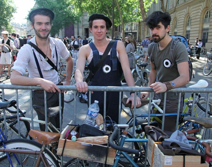 tweed run street style paris