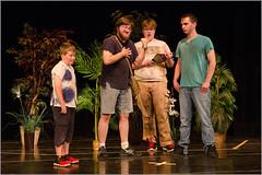 10 Ways to Survive the Zombie Apocalypse (jblorx) Tags: amigo james nikon theater play stage workshop acting nikkor 1755mm d7000