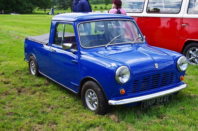 mini pickuptrucks morrismini minipickup ragleyhallwarwickshire blpickup