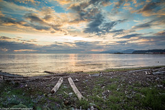 Lucky Ones (Diego Calderone) Tags: sea sky canada beach nature vancouver contrast photoshop canon landscape pretty bc richmond lovely omg nofilter lightroom ionabeach goldensky canon5d3 lightroom5
