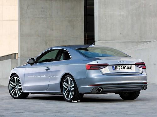 Audi A5 render