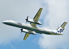 G-JECM (AnDrEwMHoLdEn) Tags: manchester airport manchesterairport dash8 egcc flybe 23l