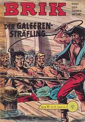 Brik 11 (micky the pixel) Tags: comics comic heft pirat pirate lehningverlag brik schiff ship galeere ruderer peitsche whip