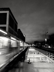 the rush/energy of urban movement (williamw60640) Tags: chicago streetphotography elevatedtrain