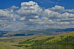 Like a painting. (The Wild Roam Free) Tags: yellowstone nationalpark clouds landscape northamerica wyoming americathebeautiful