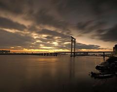 Jinjiang bridge sunset.(_B013940-4) (Minaol) Tags: china fujian quanzhou jinjiang bridge sunset 泉州 刺桐古城 晋江大桥 霞光 晚霞