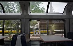 Welcome to Dallas (South Shore Fan) Tags: dallas amtrak superliner