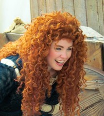 MERIDA at Disneyland CA (cameliarose659) Tags: california canon princess disneyland disney redhead merida pixar brave anaheim meet dlr greet sx30