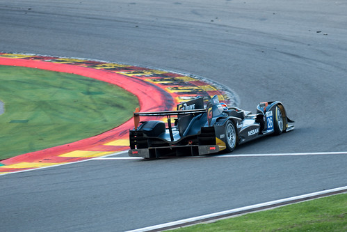 WEC Spa-Francorchamps 2013 - G-Drive Racing #26 taking the last bend of the circuit