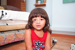 patriotic lia (Nur Hadi94) Tags: camera portrait usa baby cute love beautiful bedroom toddler singapore babies young todler interacial