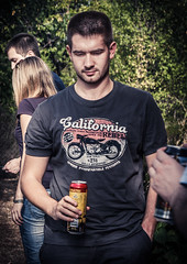 Rostilj [ Rodjendan ] @Tresnja (ntrifunovic) Tags: party portrait man male beer face closeup happy barbecue maile rodjendan avala vikendica rostilj tresnja vasiljkovic siljko