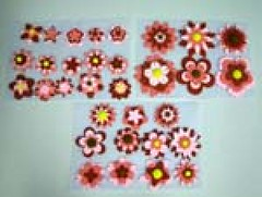 Flowers shape No.3 size 3-5 cm (sweetinspirationsaustralia) Tags: cupcaketoppers