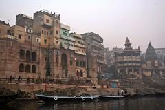 Varanasi Ghats at Dawn (zorro1945) Tags: india dawn morninglight asia religion indie varanasi asie hinduism ganges ghats earlylight riverganges varanasighats holyganges