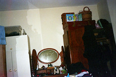 Bedroom (Saturated Imagery) Tags: film 35mm iso200 room leeds vintagecamera konicac35efp ferraniasolaris200 epsonv500 agphotographic photoshopelements9