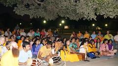 DSC02063 (JKP RMD) Tags: sadhanashivir youthcamp july2013 chanting dancing prayerhall holyspot outdoors rasmandal devotion music dholak nancy