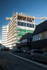 Soon be Open (Jocey K) Tags: newzealand christchurch sky building cars architecture construction cranes vehicles rebuild