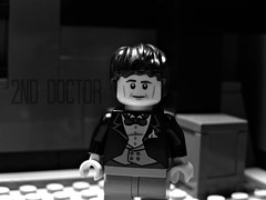 The 2nd Doctor (FinalShotFilms) Tags: show tv lego 1st who space aliens 2nd doctor bbc tardis custom minifigure galafrey