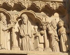 St John the Baptist, Simeon, St James and St Philip (Simon_K) Tags: paris france cathedral mary notre dame parisian francais ourlady parisien pariswander pariswanderblogspotcouk