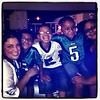 """SOUNDWAVEZRADEO.COMS DIRECTOR OF PUBLIC AFFAIRS/EVENT COORDINATOR DANA BOWSER AND HER CREW AT THE PHILADELPHIA EAGLES GAME. """"RIDE THE WAVEZ BABY!"""" Take the football commercial out and check the order of eddies 1st hour. His 1st song didnt play."""