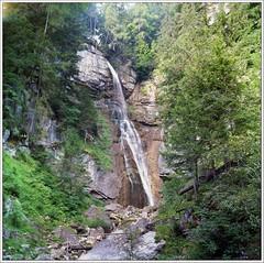 - Dolomiti orientali -  ;/)   waterfall of the spoon  Ru d'Assola (schyter) Tags: 2 120 6x6 italia fuji tank unesco lubitel epson format v600 belluno dolomiti veneto c41 30c 1200dpi orientali tetenal valboite colortec pn160ns homemadedevelopment borcadicadore rudassola