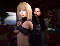 [ NOUS DEUX - RP URBAN ] ...Par NIKKY (oelore82) Tags: girls red love beauty michigan duo boyz games sensual motors sl secondlife crows rp d3 bikers roleplay