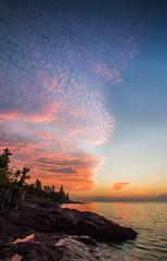_MG_7326.jpg (Mike Livdahl) Tags: sunrise schroder lakesuperior shiningrocks