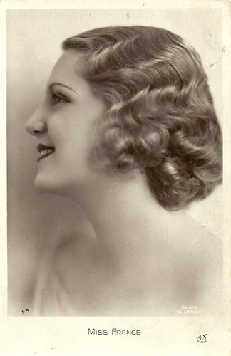 Miss Europe 1930 candidate: Yvette Labrousse