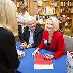 """<b>Callista Gingrich Book Signing_100513_0026</b><br/> Photo by Zachary S. Stottler Luther College '15<a href=""""http://farm4.static.flickr.com/3794/10181161726_120a8ca94b_o.jpg"""" title=""""High res"""">∝</a>"""