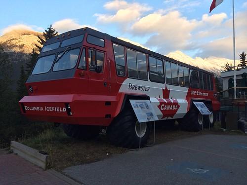 Monsterbus für eisige Tage