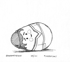 Defective Weeble (nathantwright) Tags: illustration sketch drawing weebles 100sketches