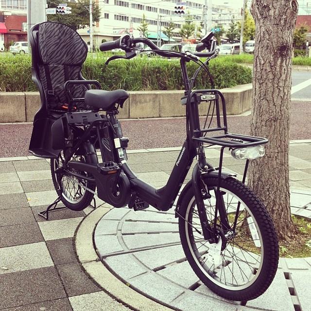 攻めてる電動アシスト自転車!!ギュットアニーズ!!これはゼブラ柄(☼ Д ☼) #eirin #電動アシスト自転車 #ギュットアニーズ