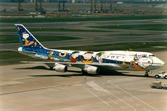 All Nippon Airways | Boeing 747-400D | JA8965 | Snoopy livery | Tokyo Haneda (Dennis HKG) Tags: plane airplane tokyo ana airport aircraft nh boeing boeing747 747 haneda 747400 hnd planespotting boeing747400 staralliance allnippon allnipponairways rjtt ja8965