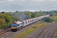59102 near Westbury (robmcrorie) Tags: england stone train rail railway loco trains class locomotive enthusiast railways railfan freight 59 hanson westbury 59102