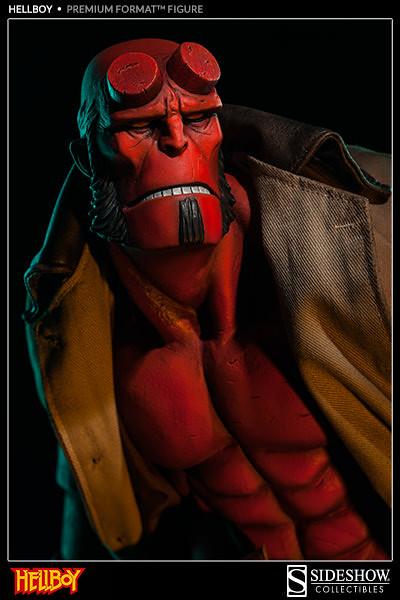 """絕對不能錯過!Mike Mignola 版""""地獄怪客""""20 週年紀念 Premium Format 雕像"""