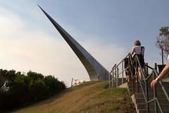 Diminish and ascend - David McCracken New Zealand (Val in Sydney) Tags: new sea sculpture david by sydney australia zealand nsw ascend australie mccracken sxsbondi 2013 diminish
