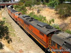 GM42 / 2216 / GM43 / GM37 / 2207, Keswick (baytram366) Tags: train diesel south grain australian anr national end wyoming gw railways keswick commonweal