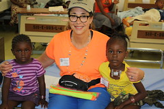 "CSI Board member and volunteer, Sally Lannin, in Liberia • <a style=""font-size:0.8em;"" href=""http://www.flickr.com/photos/109076046@N08/10930976556/"" target=""_blank"">View on Flickr</a>"
