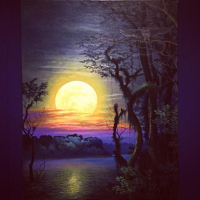 """Jesus Amaringo Armas """"Usko Ayar"""" • """"La escuela de las Visiones"""" #art #arteenlima #artinlima #arte #artist #artista #painting #pintura"""